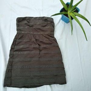 J. Crew Dark Gray Dress size 10 (A19)